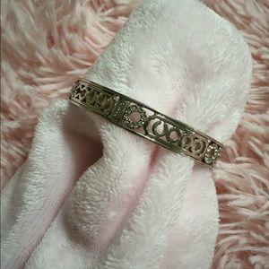 Coach bangle bracelet